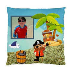 Pirate Pete I See No Ships Cushion By Catvinnat   Standard Cushion Case (two Sides)   Gkcgpr8ras4i   Www Artscow Com Front