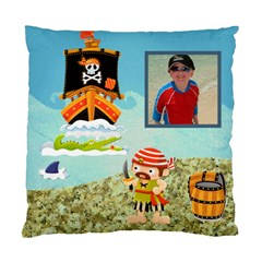 Pirate Pete I See No Ships Cushion By Catvinnat   Standard Cushion Case (two Sides)   Gkcgpr8ras4i   Www Artscow Com Back
