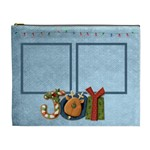 Joy Christmas cosmetic bag - Cosmetic Bag (XL)