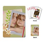 kids card - Playing Cards Single Design
