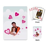 heart and love - Playing Cards Single Design