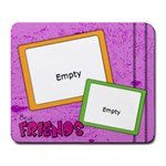 Best friends - Mousepad - Large Mousepad
