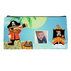 Pirate Pete Pencil Case By Catvinnat   Pencil Case   Vkryhdoggleq   Www Artscow Com Front