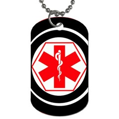 Medic Alert Dog Tag 2a To Customise The Reverse With Your Text By Catvinnat   Dog Tag (two Sides)   Xvajc035ccm9   Www Artscow Com Front