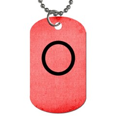 Medic Alert Dog Tag 2a To Customise The Reverse With Your Text By Catvinnat   Dog Tag (two Sides)   Xvajc035ccm9   Www Artscow Com Back