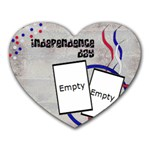 Independence day - Memopad - Heart Mousepad