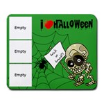 I love halloween - Mousepad - Large Mousepad