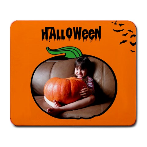 Halloween   Mousepad By Carmensita   Large Mousepad   Qv0b1dv1s10j   Www Artscow Com Front