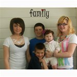 16x20 family - Canvas 16  x 20