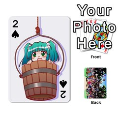 Touhou Cards(updated) By Keifer   Playing Cards 54 Designs   Oeutec6k3acp   Www Artscow Com Front - Spade2