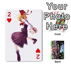 Touhou Cards(updated) By Keifer   Playing Cards 54 Designs   Oeutec6k3acp   Www Artscow Com Front - Heart2