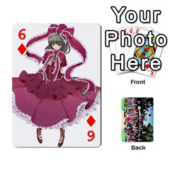 Touhou Cards(updated) By Keifer   Playing Cards 54 Designs   Oeutec6k3acp   Www Artscow Com Front - Diamond6