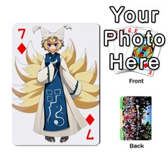 Touhou Cards(updated) By Keifer   Playing Cards 54 Designs   Oeutec6k3acp   Www Artscow Com Front - Diamond7