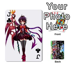 Jack Touhou Cards(updated) By Keifer   Playing Cards 54 Designs   Oeutec6k3acp   Www Artscow Com Front - ClubJ
