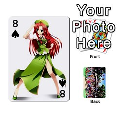 Touhou Cards(updated) By Keifer   Playing Cards 54 Designs   Oeutec6k3acp   Www Artscow Com Front - Spade8