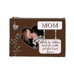 Mom Large Cosmetic Bag By Lil    Cosmetic Bag (large)   301mlps99ynb   Www Artscow Com Front