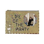Life of the Party Large Cosmetic Bag - Cosmetic Bag (Large)