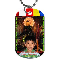 Jade Buddha   Peter By Phungm   Dog Tag (two Sides)   Jrbe8gz1osl3   Www Artscow Com Front