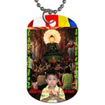Jade Buddha - Patrick - Dog Tag (Two Sides)