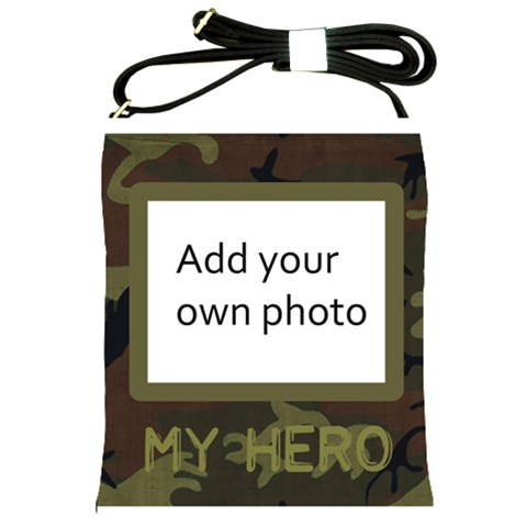 My Hero Sling Bag By Jen   Shoulder Sling Bag   Vh30znouqm4p   Www Artscow Com Front