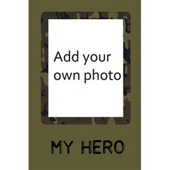 Camo Notebook 2 By Jen   5 5  X 8 5  Notebook   X2t6wz9ejgiq   Www Artscow Com Front Cover