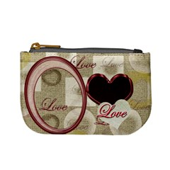 Heart Moon 16 Coin Purse By Ellan   Mini Coin Purse   U1n9ni89fubc   Www Artscow Com Front