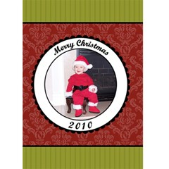 Merry Christmas 2010 5x7 Greeting Card By Klh   Greeting Card 5  X 7    Axofj16ni0jx   Www Artscow Com Front Cover