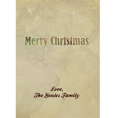Victorian Merry Christmas 5x7 Greeting Card By Klh   Greeting Card 5  X 7    Tf7j8sa2ofxt   Www Artscow Com Back Inside