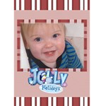 Jolly holidays Christmas Card - Greeting Card 5  x 7