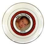 Baby s First Christmas Porcelain Plate