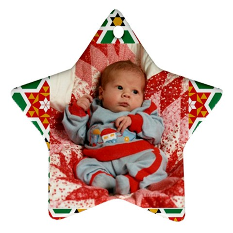 Jr By Sue Wells   Ornament (star)   Tu10iak04bgq   Www Artscow Com Front