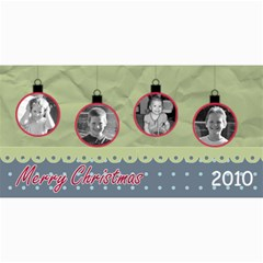 Ornament Christmas Card By Martha Meier   4  X 8  Photo Cards   Scx2itbrasze   Www Artscow Com 8 x4 Photo Card - 1