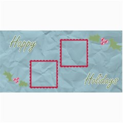 Holly Christmas Card By Martha Meier   4  X 8  Photo Cards   4x5fhgjrckep   Www Artscow Com 8 x4 Photo Card - 6