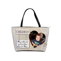 Children Shoulder Handbag By Lil    Classic Shoulder Handbag   Jtinuar9aepc   Www Artscow Com Front