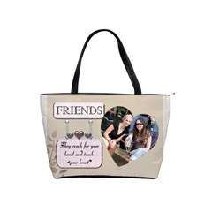 Friends Shoulder Handbag By Lil    Classic Shoulder Handbag   Eszg15atso7y   Www Artscow Com Front