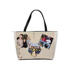 Friends Shoulder Handbag By Lil    Classic Shoulder Handbag   Eszg15atso7y   Www Artscow Com Back
