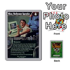 Netrunner Bs Runner 01 By Pedrito   Playing Cards 54 Designs   Ofz8v79dbgnx   Www Artscow Com Front - Spade7