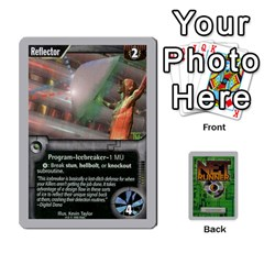 Netrunner Bs Runner 01 By Pedrito   Playing Cards 54 Designs   Ofz8v79dbgnx   Www Artscow Com Front - Joker2
