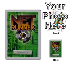 Netrunner Bs Runner 01 By Pedrito   Playing Cards 54 Designs   Ofz8v79dbgnx   Www Artscow Com Back