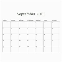 2011 Calendar By Hannah   Wall Calendar 11  X 8 5  (12 Months)   O718kv6h2o4d   Www Artscow Com Sep 2011