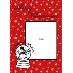 Merry Christmas     Custom Greeting Card 5  X 7  By Carmensita   Greeting Card 5  X 7    5ysxzl3hvbbh   Www Artscow Com Front Cover
