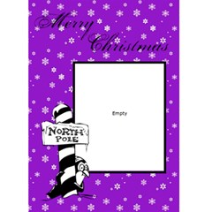 Merry Christmas   Custom Greeting Card 5  X 7  By Carmensita   Greeting Card 5  X 7    3oeaxca32a1w   Www Artscow Com Front Cover