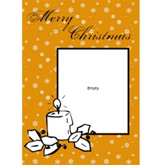 Merry Christmas     Custom Greeting Card 5  X 7  By Carmensita   Greeting Card 5  X 7    9it2ygafdhqd   Www Artscow Com Front Cover