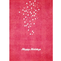 Holly Holiday Card By Mikki   Greeting Card 5  X 7    5laroo83d1m8   Www Artscow Com Back Cover
