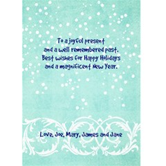 Fun Holiday Card By Mikki   Greeting Card 5  X 7    Ctzkmv3lpcxr   Www Artscow Com Back Inside