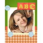 abc card - Greeting Card 4.5  x 6