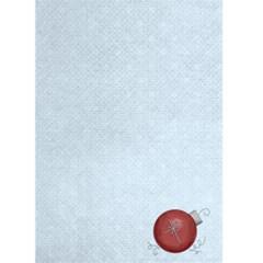 Happy Holiday Blue Christmas Card By Catvinnat   Greeting Card 5  X 7    X2951bv6fsr3   Www Artscow Com Back Inside