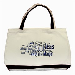 Away In  A Manger Tote Bag By Catvinnat   Basic Tote Bag (two Sides)   Jkjnis8v4pd5   Www Artscow Com Front