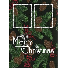 Merry Christmas     Card 5 x7  By Carmensita   Greeting Card 5  X 7    Nz9p2w1khthr   Www Artscow Com Front Cover