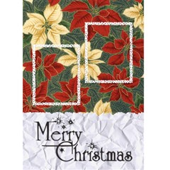 Merry Christmas   Card 5 x7  By Carmensita   Greeting Card 5  X 7    Q7hm7263dcnm   Www Artscow Com Front Cover